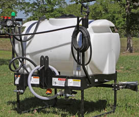 3-point hitch sprayer