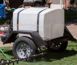 tow behind sprayer