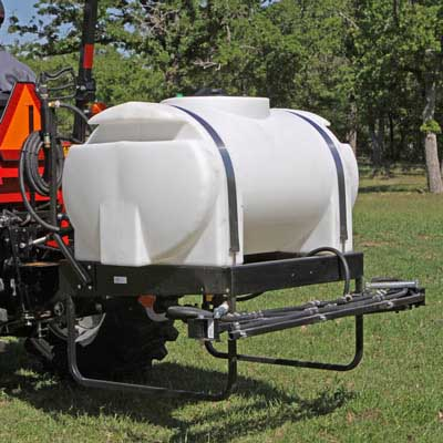 Three-point hitch sprayer