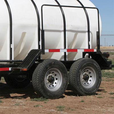 water tank trailer with pump